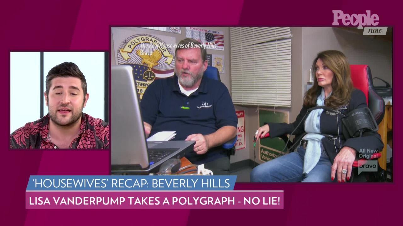RHOBH: Lisa Vanderpump Passes PuppyGate Lie Detector Test
