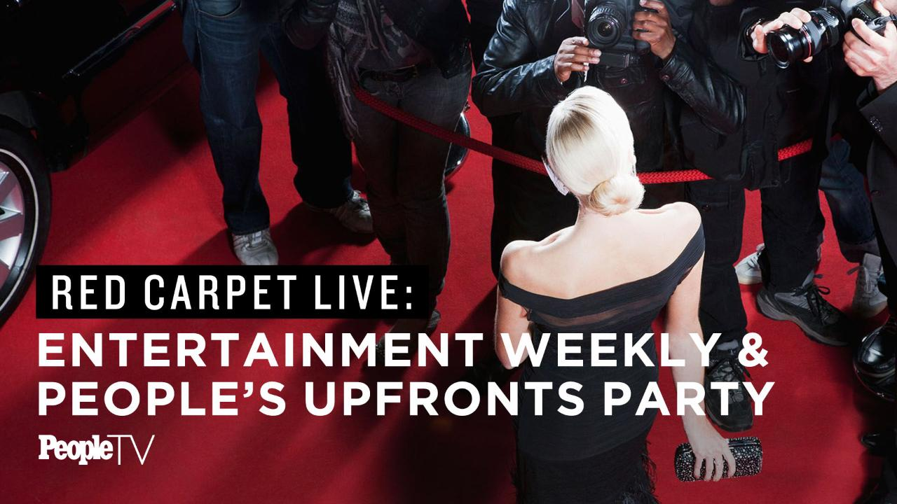 Fall TV Preview: Watch the Entertainment Weekly and PEOPLE Upfronts Red Carpet Livestream