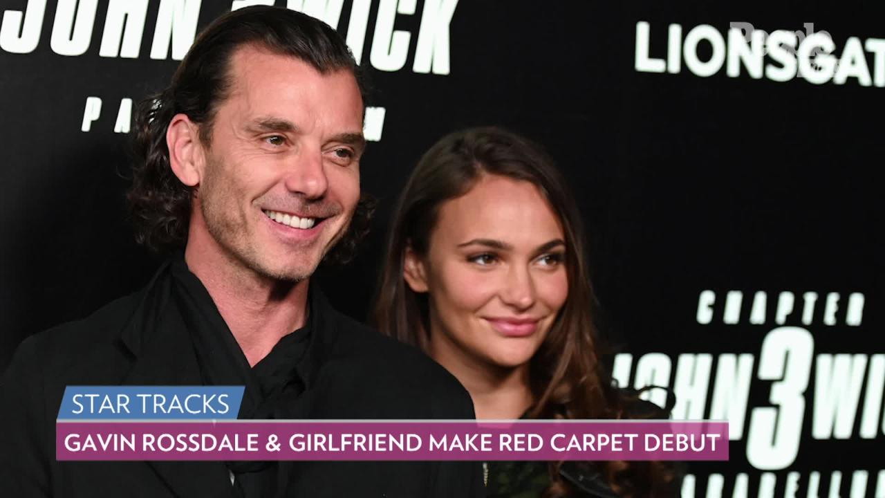 Gavin Rossdale and Girlfriend Natalie Golba Make Red Carpet