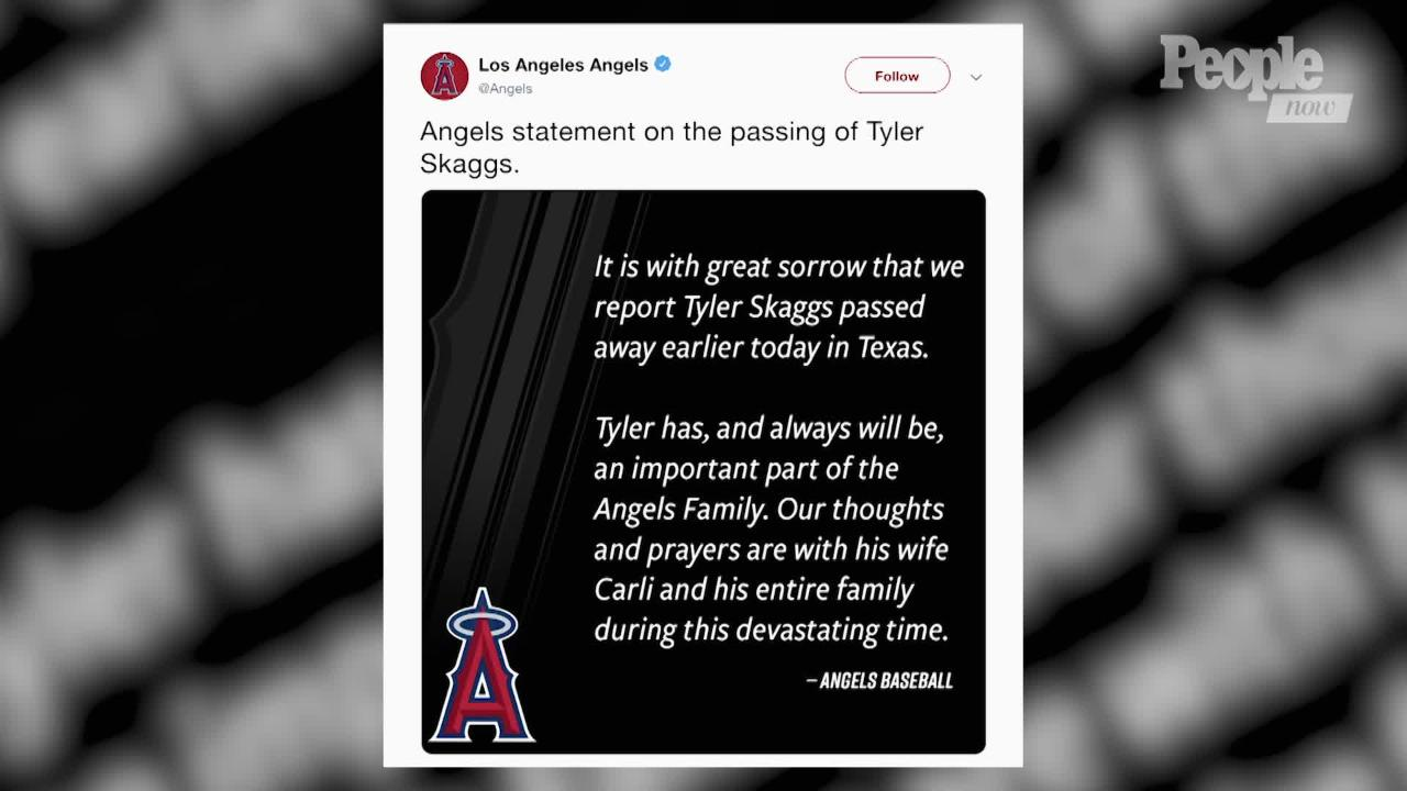 Tyler Skaggs Laid to Rest at Funeral Attended by Angels