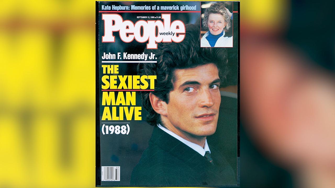 Jfk Jr Was Peoples Sexiest Man Alive In 1988 Peoplecom