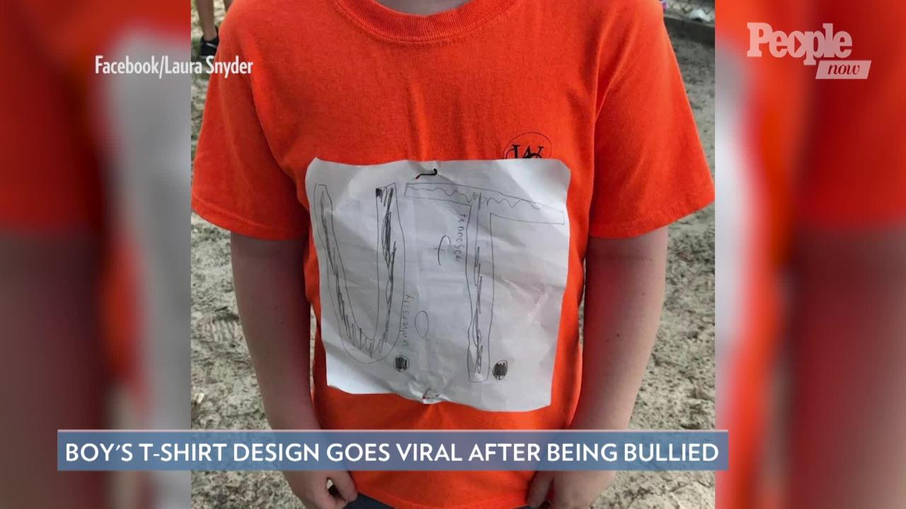 UT Has Sold More Than 16,000 of Bullied Boy's T-Shirt Design