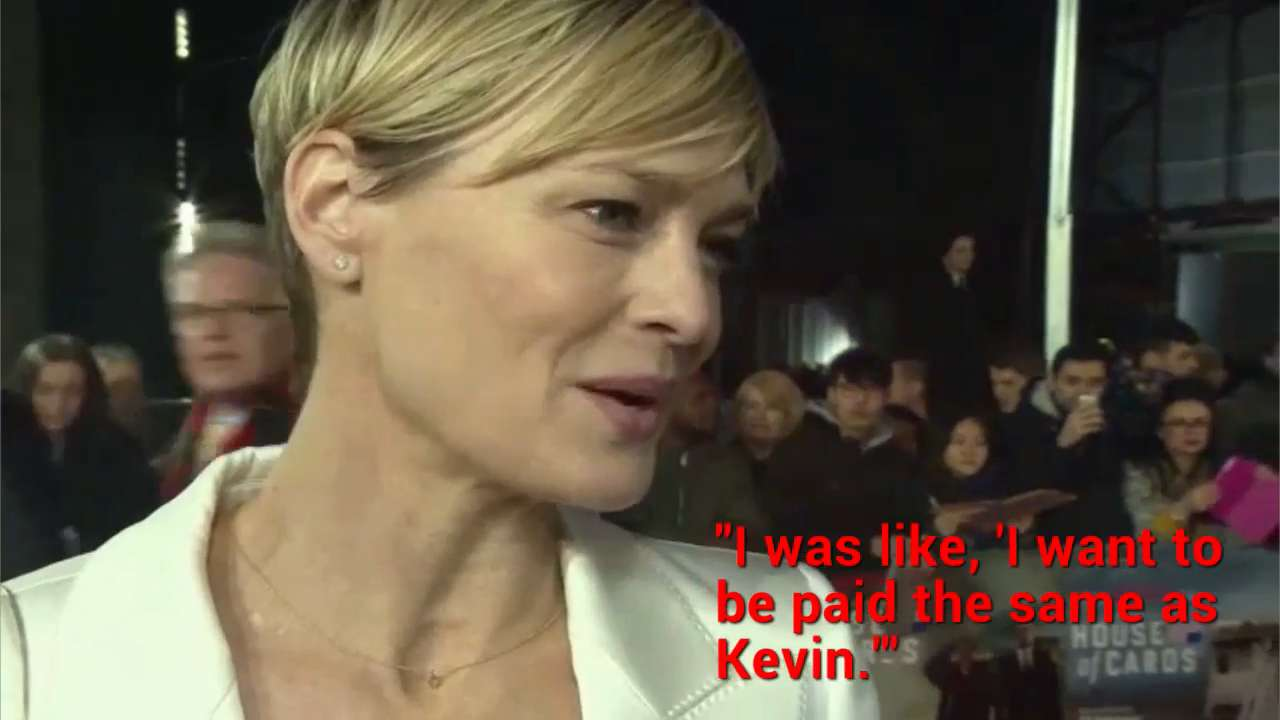 Robin Wright Demanded Equal Pay On House Of Cards Instyle