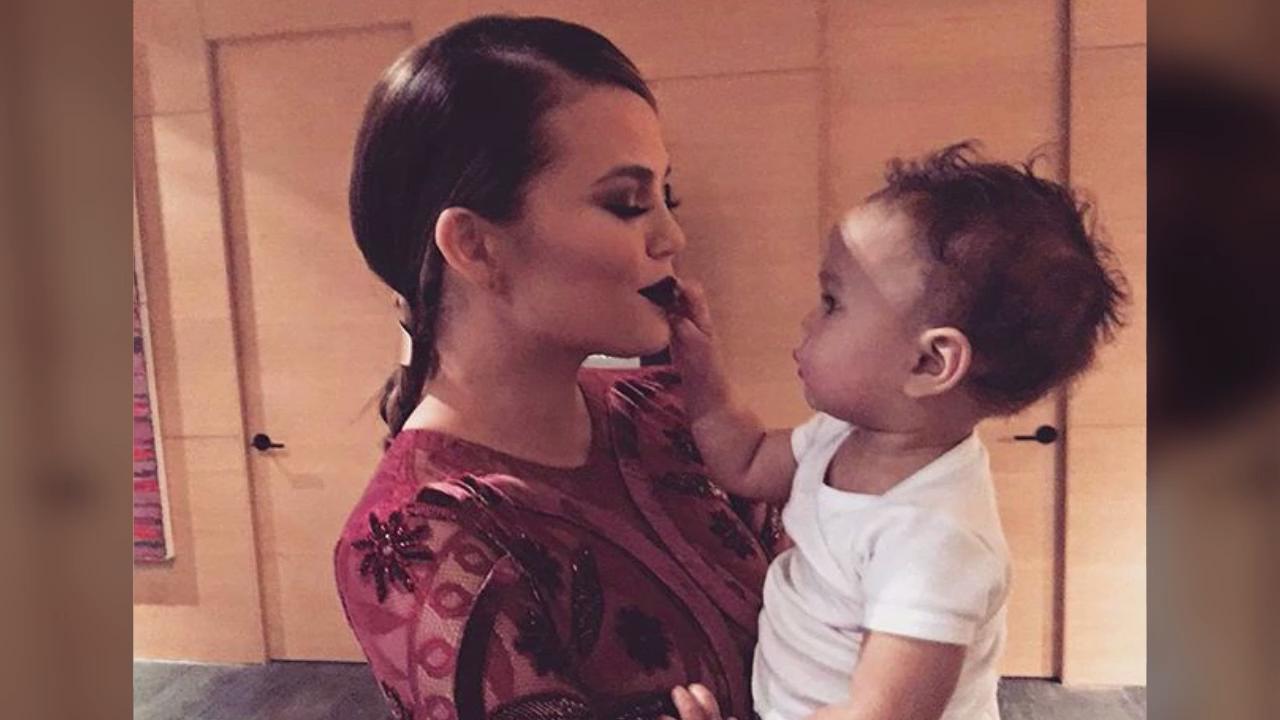 Chrissy Teigen Is Being Mom-Shamed for Her Daughter Luna's Pedicure