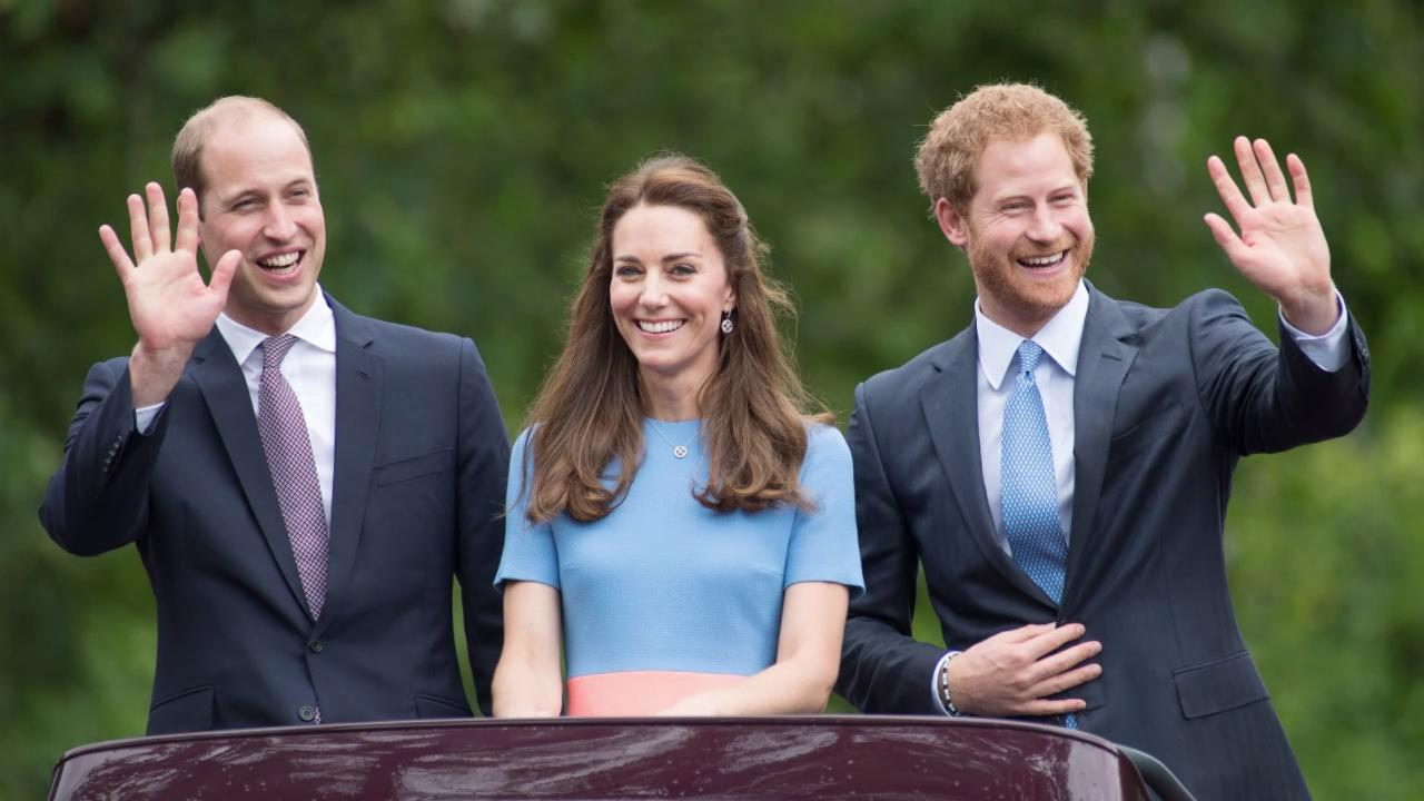 Prince Harry and Prince William Kept Their Distance from Each Other During Easter Sunday Service