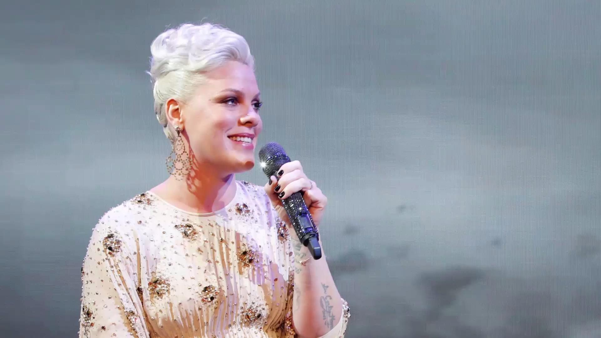 "Pink Responds to ""Disgusting"" Trolls Criticizing a Photo of Her 2-Year-Old Son without a Diaper"