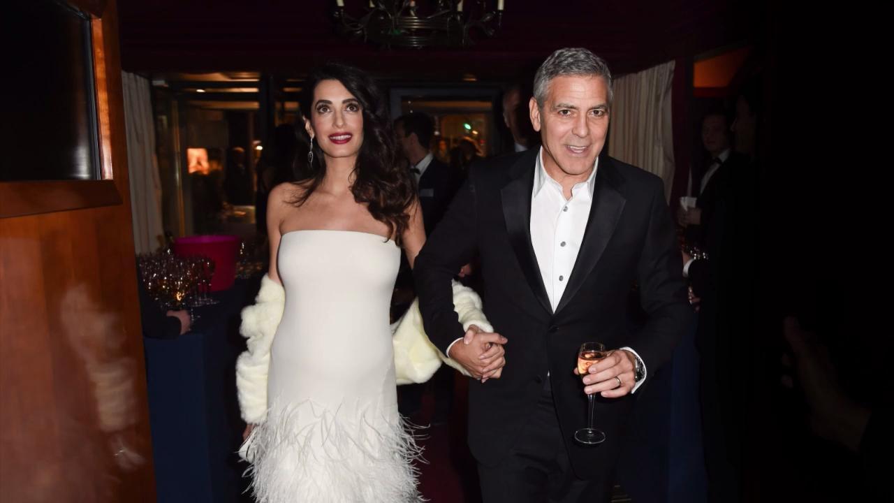 George Clooney & Amal Alamuddin\'s Wedding Album Photos | InStyle.com