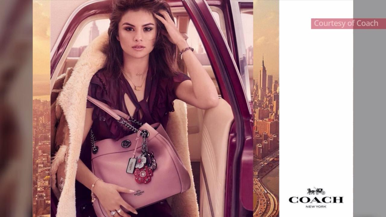 Exclusive First Look at the Coach x Selena Gomez Collection ... 8fa3c4b94cbc1
