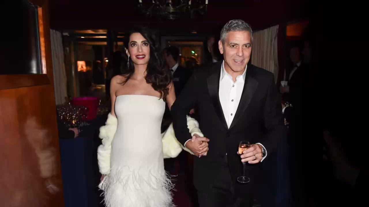 George Clooney's Twins Are Already Pulling Pranks