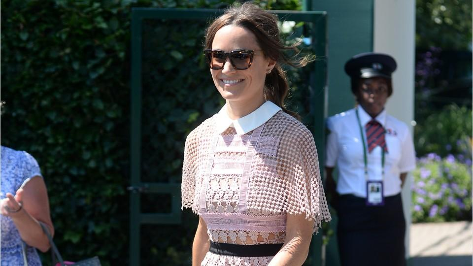 Pippa Middleton Just Third-Wheeled Meghan Markle and Sister Kate's Wimbledon Outing