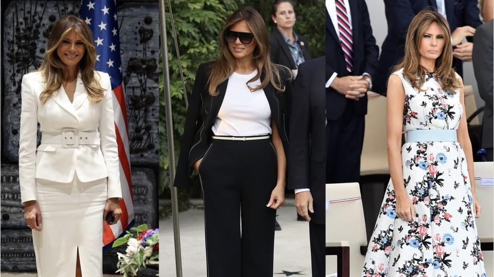 Melania Trump's Easter Egg Roll Look Is Giving Us Déjà Vu