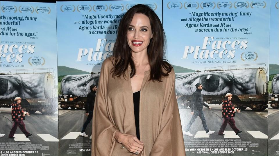 Angelina Jolie Just Made a Strong Case for the Summer Caftan