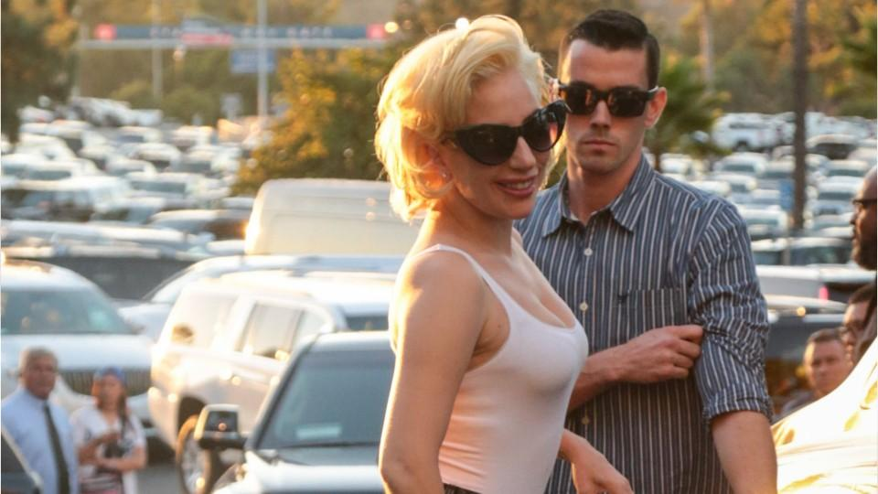 Lady Gaga Wore Hot Pants To The World Series Instylecom