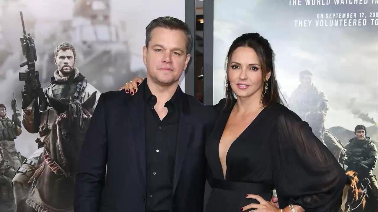 Matt Damon's Wife Luciana Barroso Followed the Implicit Dress Code at the Men in Black Premiere