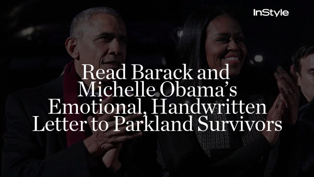 Image result for Barack and Michelle Obama HuffPost Parkland