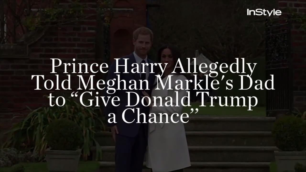 President Trump Is Now Trying to Start a Feud with Meghan Markle