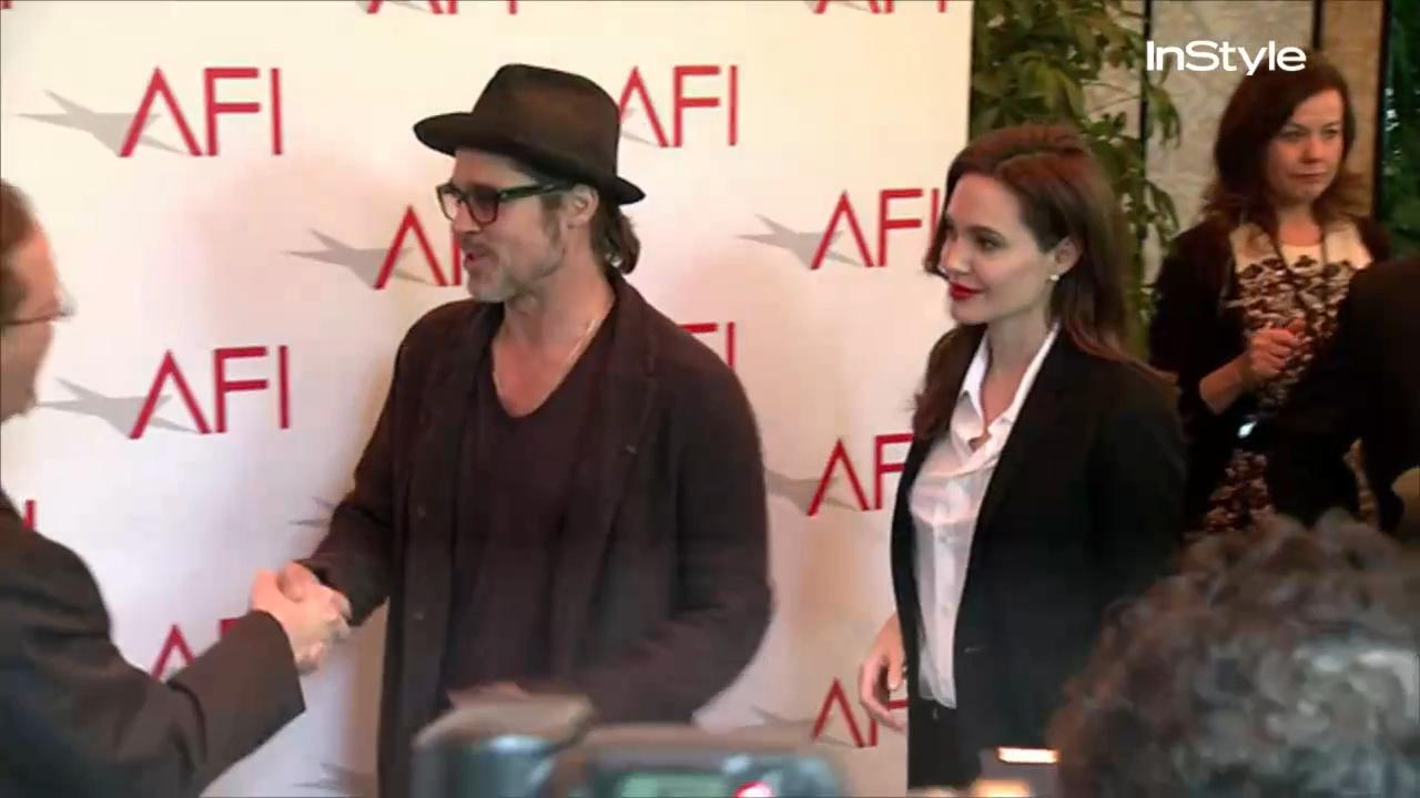 Angelina Jolie and Brad Pitt Got Matching Tattoos Months Before Announcing Their Divorce