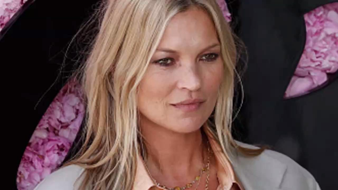 Kate Moss Made a Rare Public Appearance with Her Daughter