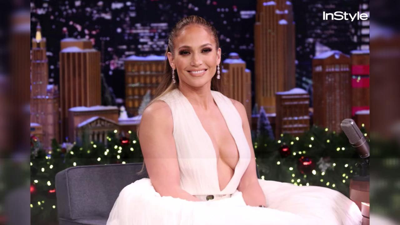 Jennifer Lopez Just Paired a Bathrobe With Stilettos and Made It Look Red Carpet-Worthy