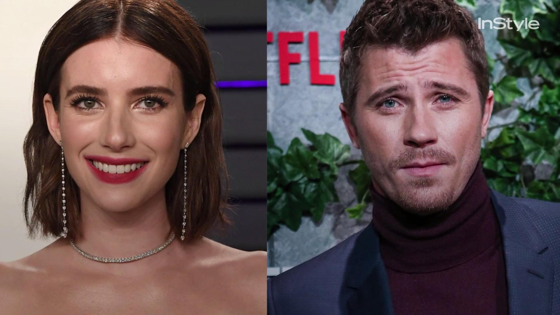 "Emma Roberts and Garrett Hedlund Are Just ""Hanging Out and Hooking Up"""