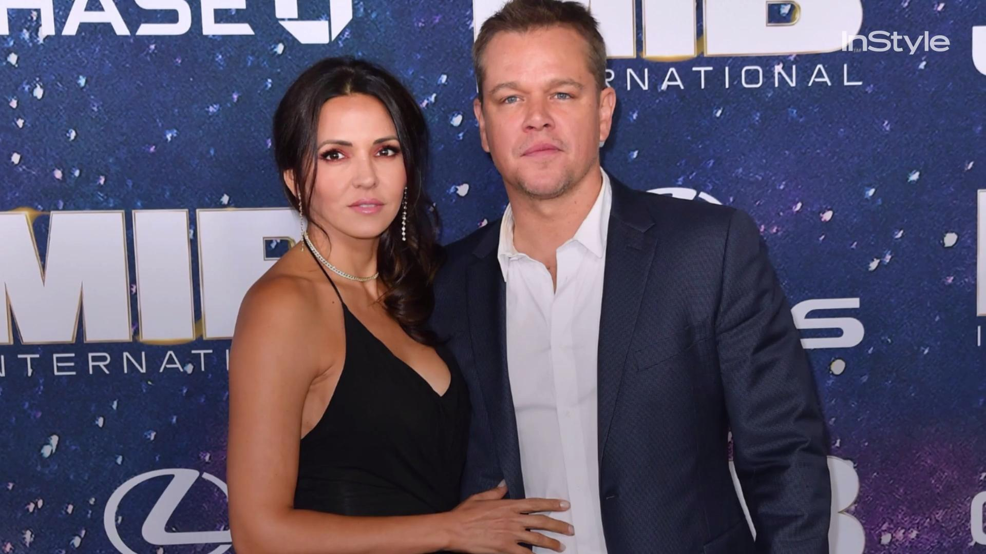 Matt Damon and Wife Luciana Barroso Packed on the PDA While on Vacation in Italy