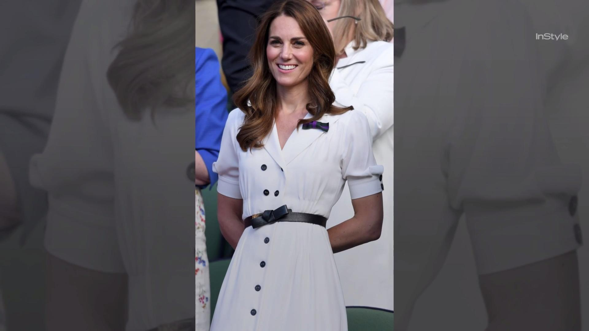 Kate Middleton and Prince William's Matching Outfits at Wimbledon Prove They're Totally in Love