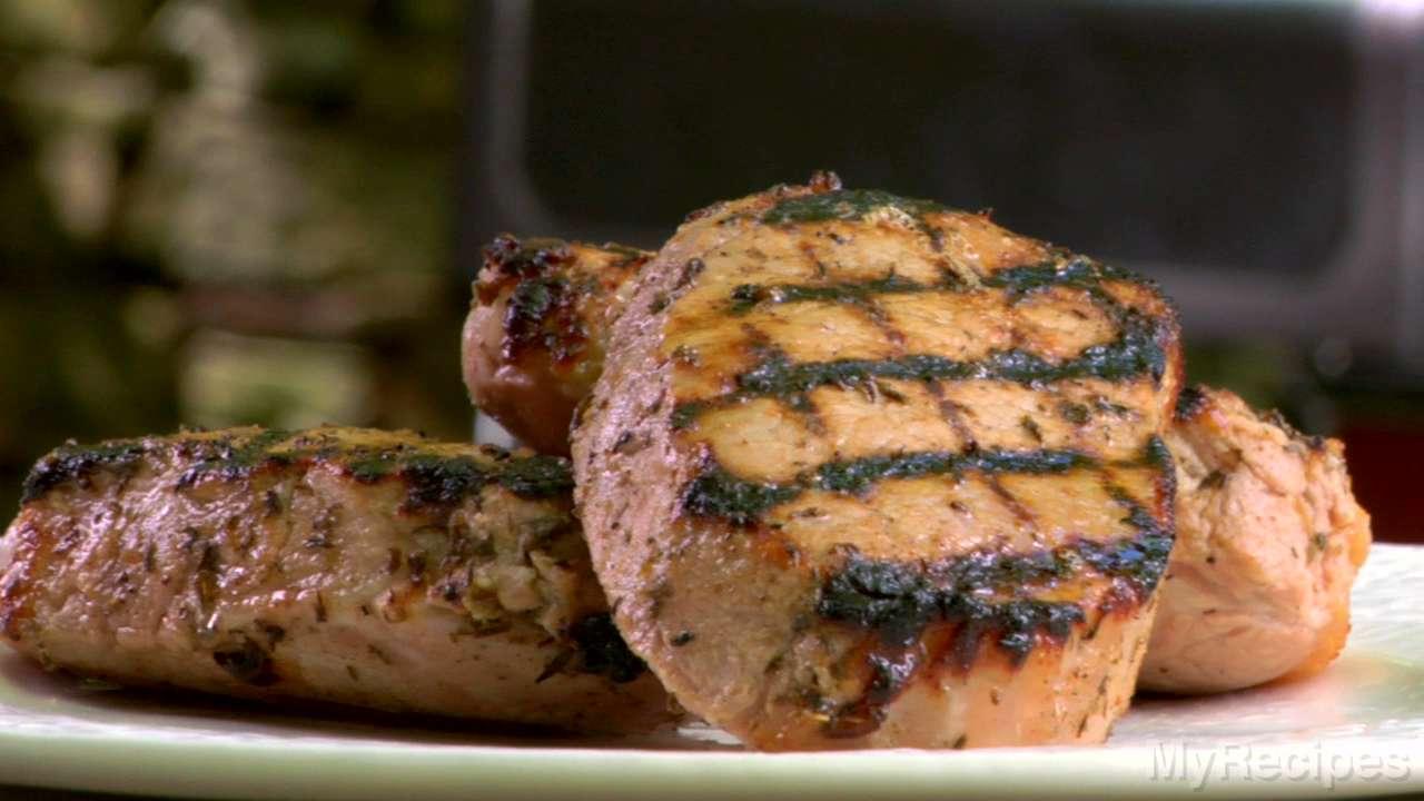 Hoisin-Marinated Pork Chops Recipe | MyRecipes