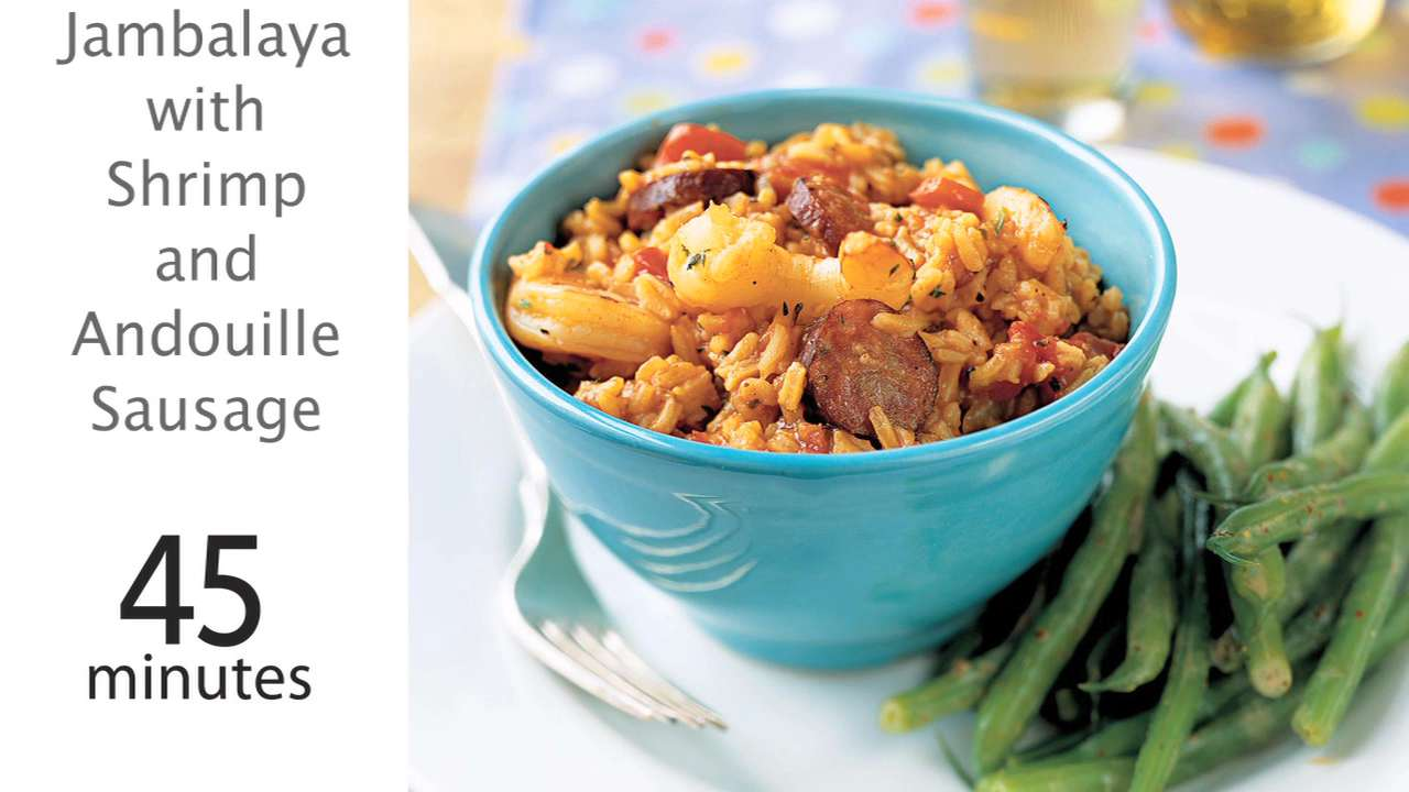 Shrimp and Andouille Sausage Recipe