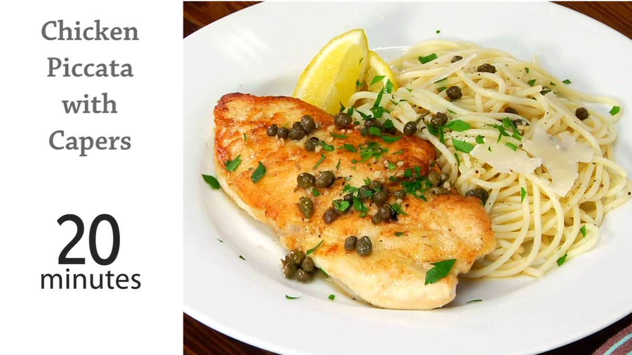 Astounding Chicken Piccata With Capers Download Free Architecture Designs Rallybritishbridgeorg