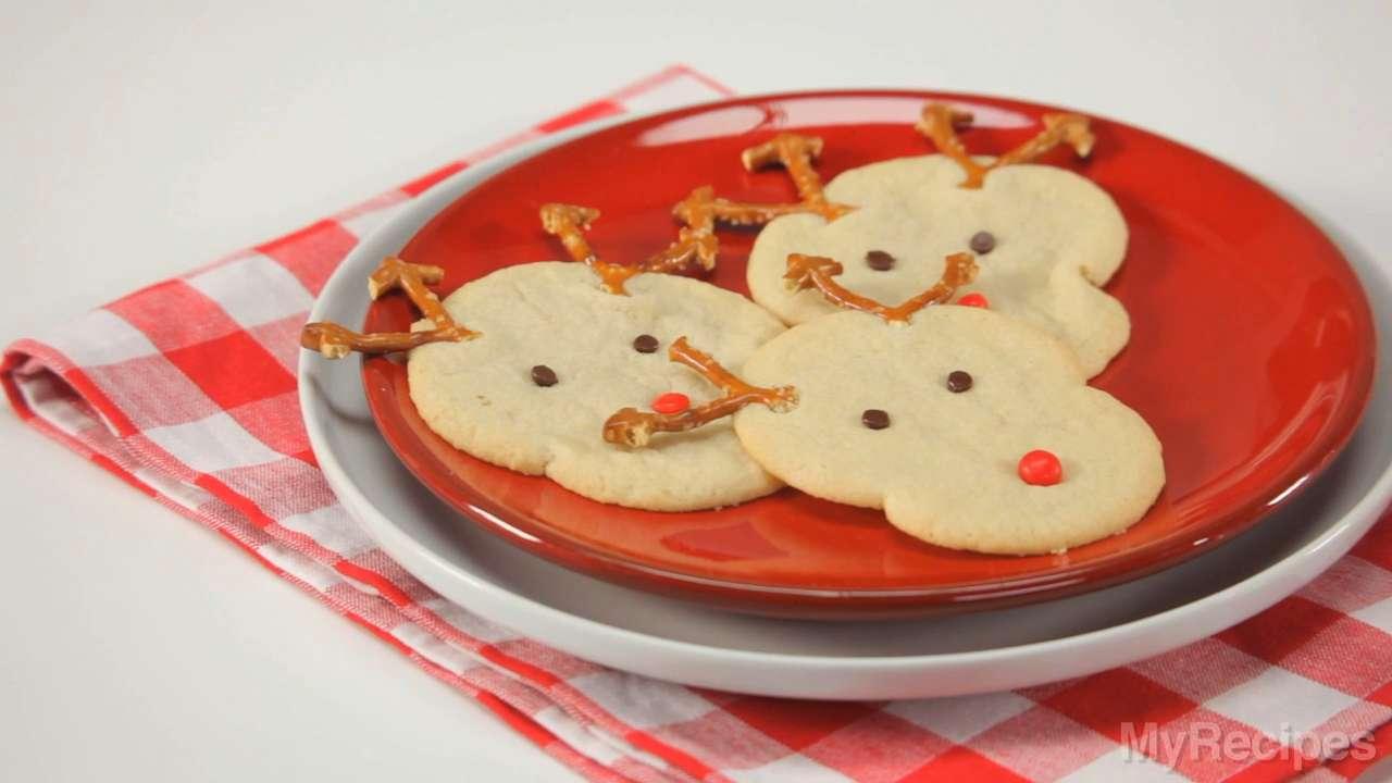 Rudolph's Christmas Sugar Cookies