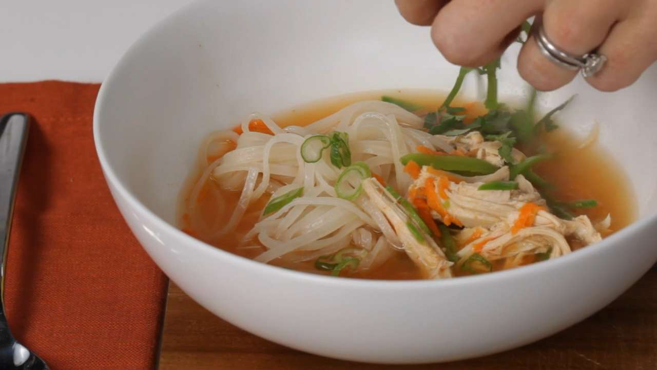 Spicy asian chicken and noodle soup recipe myrecipes forumfinder Choice Image