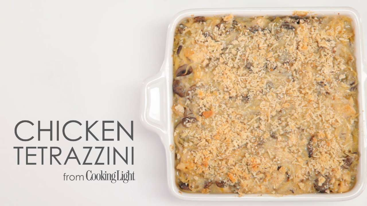 make one save one try our lighter chicken tetrazzini cooking light