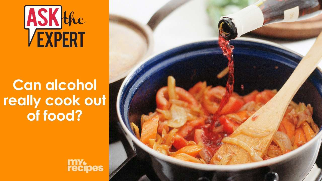 Can alcohol really cook out of food video myrecipes forumfinder Choice Image