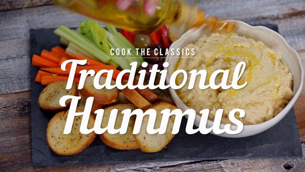Homemade Traditional Hummus