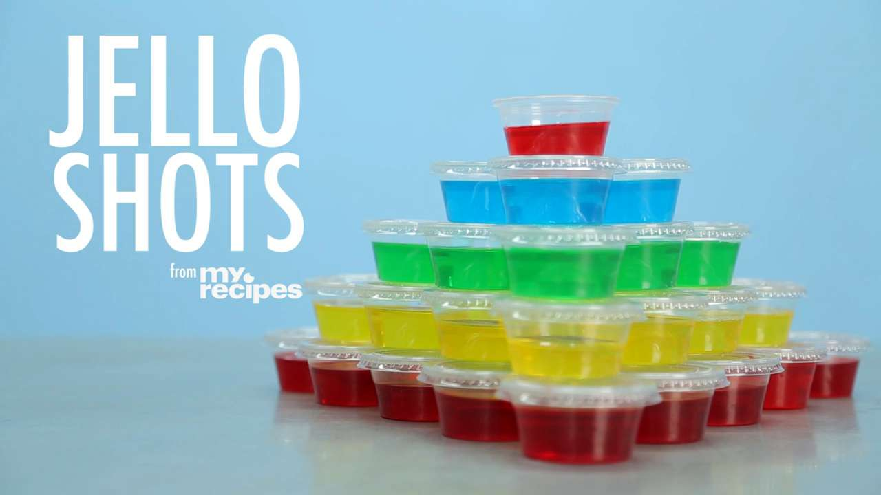 How do you make jello shots cups