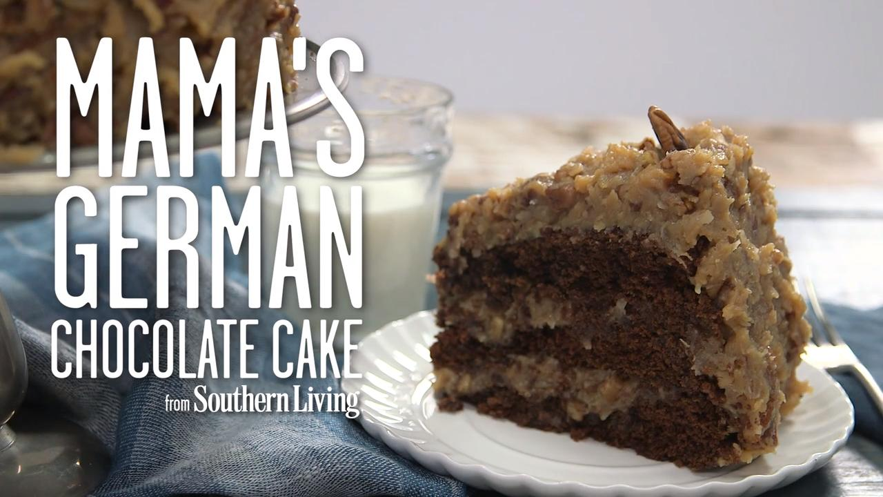 Mama S German Chocolate Cake Recipe Myrecipes