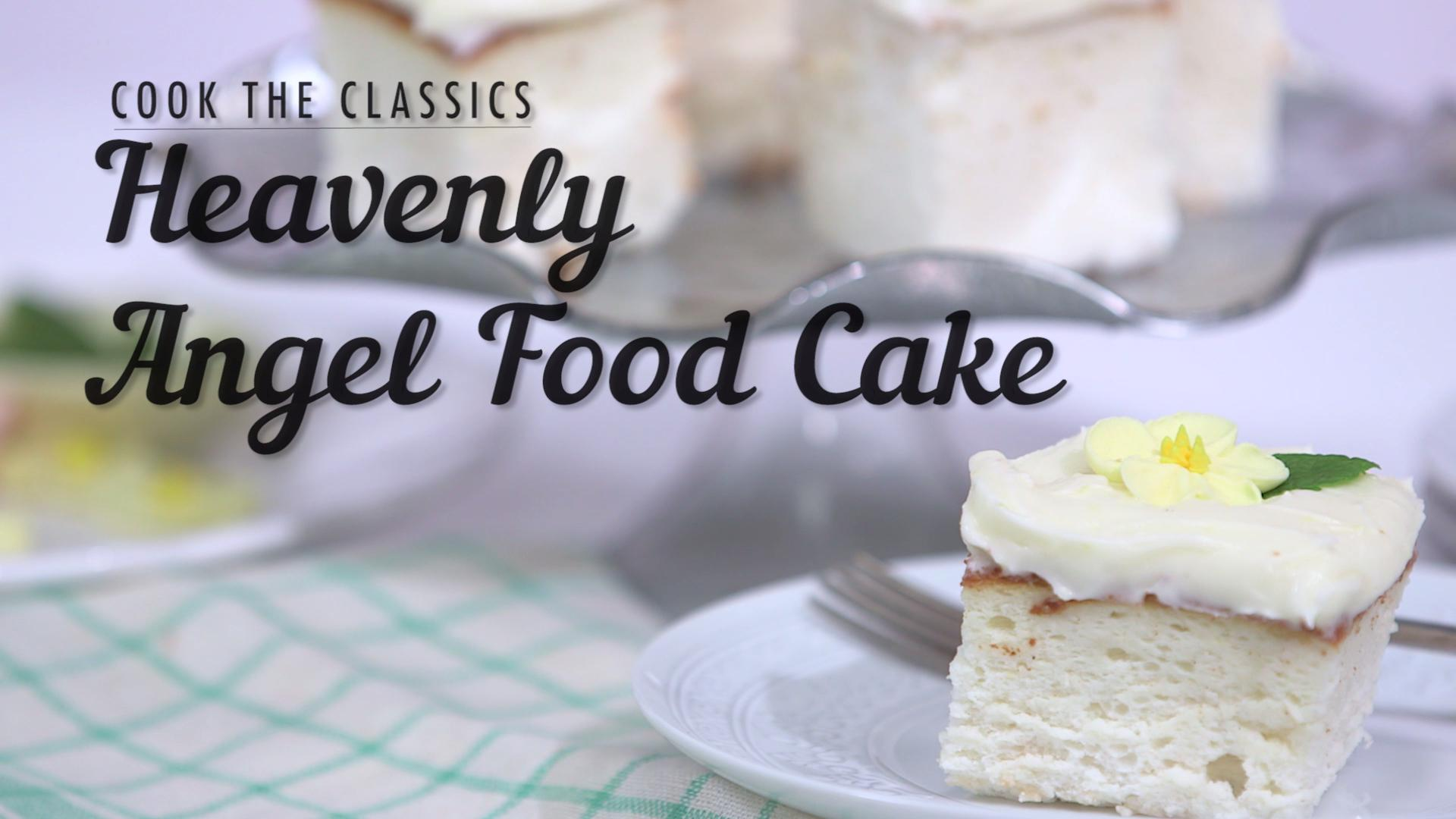 Heavenly angel food cake recipe myrecipes forumfinder Image collections