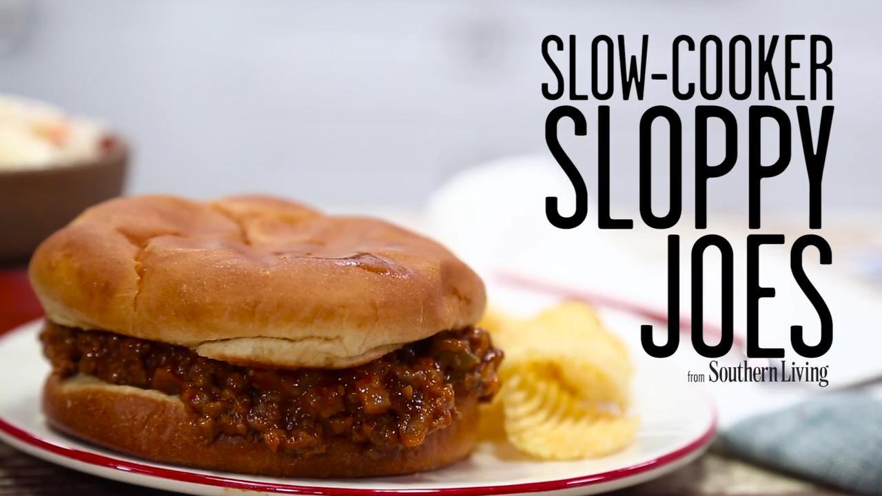 Slow-cooker Sloppy Joes Recipe | MyRecipes