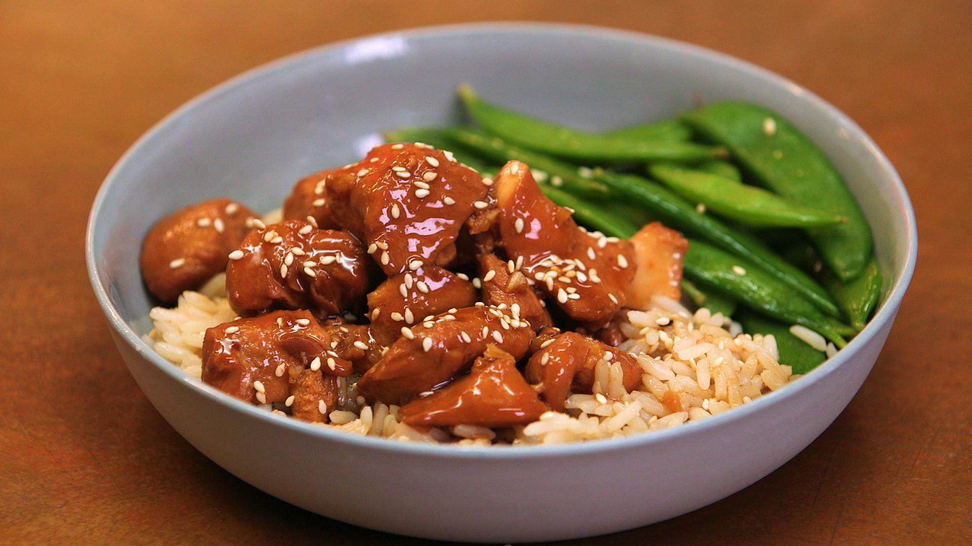 Crock pot chicken teriyaki recipe myrecipes forumfinder Choice Image