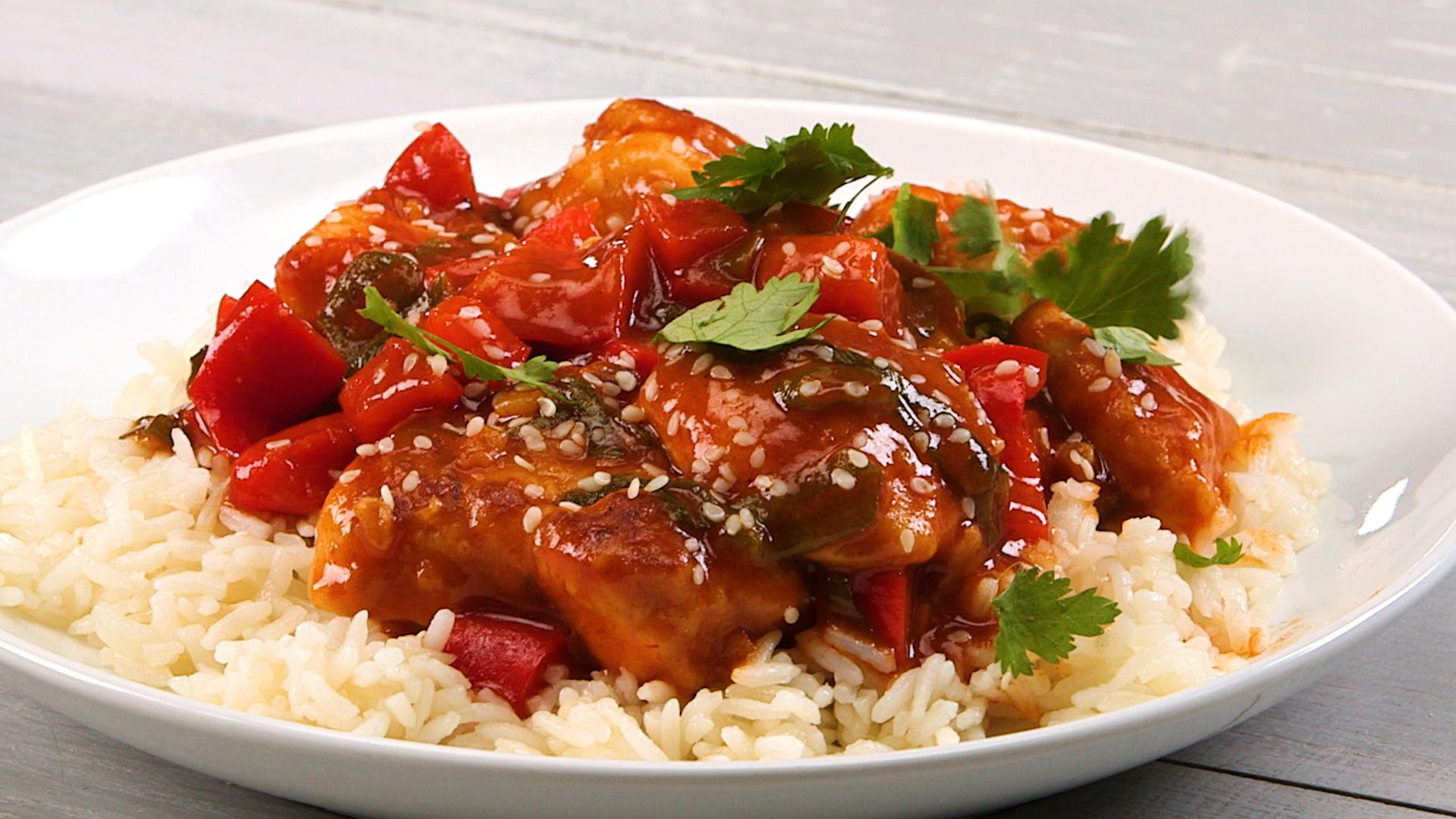Sweet and Sour Chicken foto