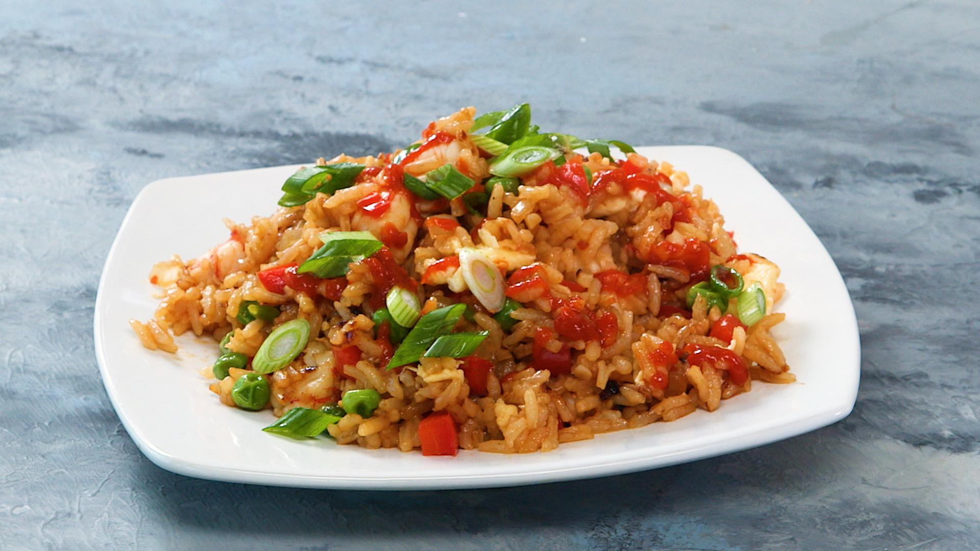 Combination fried rice recipe myrecipes ccuart Images