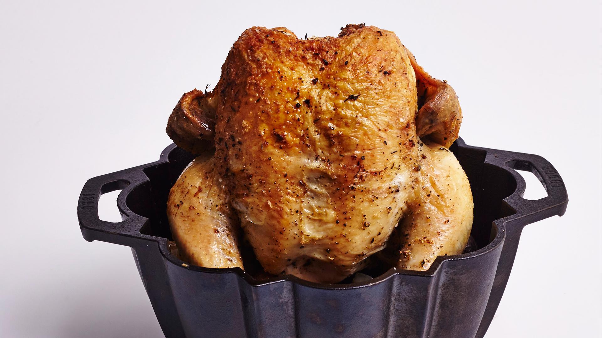 Bundt Pan Roasted Chicken Dinner Recipe Myrecipes,Granite Top Kitchen Island On Wheels