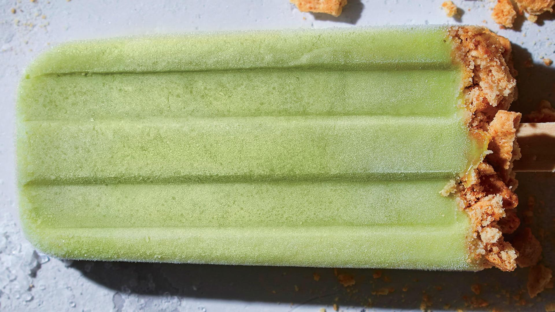Creamy Key Lime Pie Ice Pops - Cooking Light