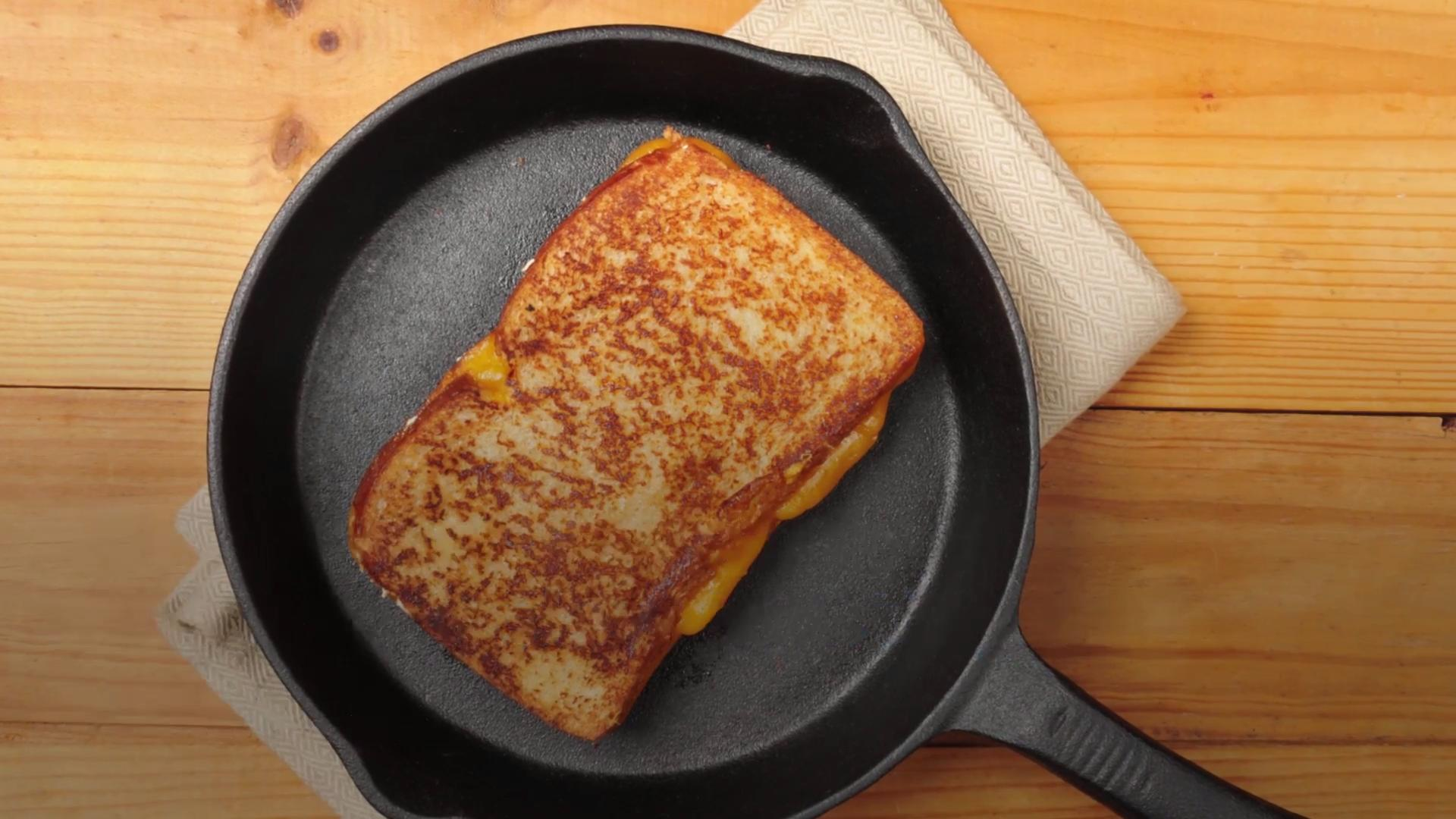 The Brilliant Secret for a Better Grilled Cheese