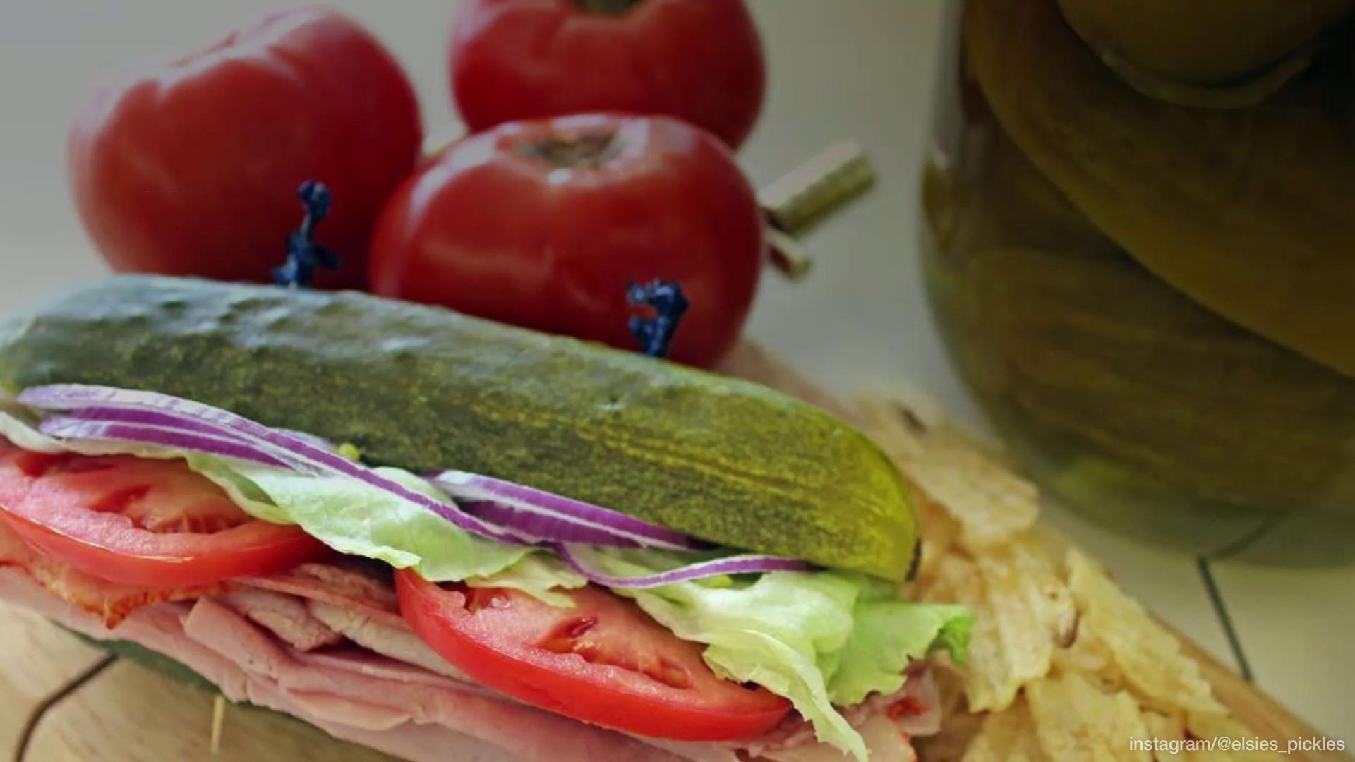 This Pickle Sandwich Exists and It's a Very Big Dill