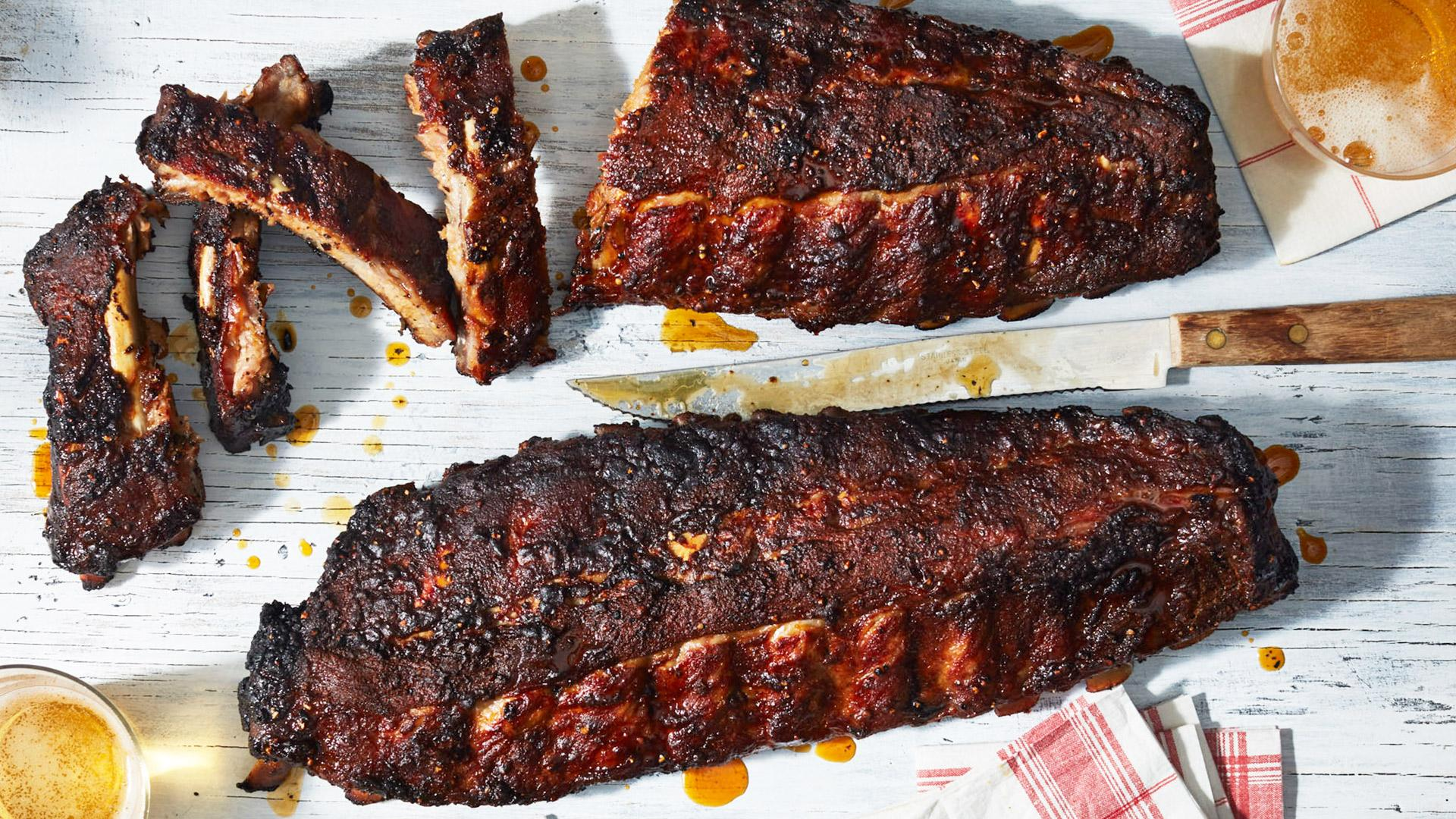 How to cook tender spare ribs on the grill