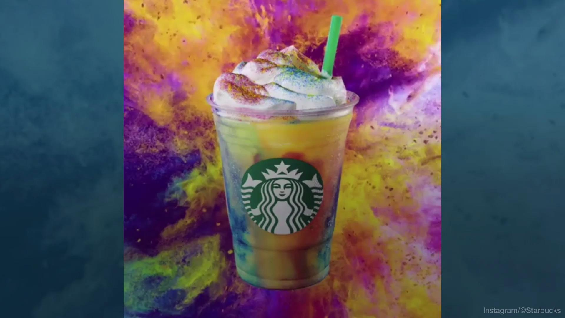 Starbucks Is Making Tie-Dye Frappuccinos | MyRecipes
