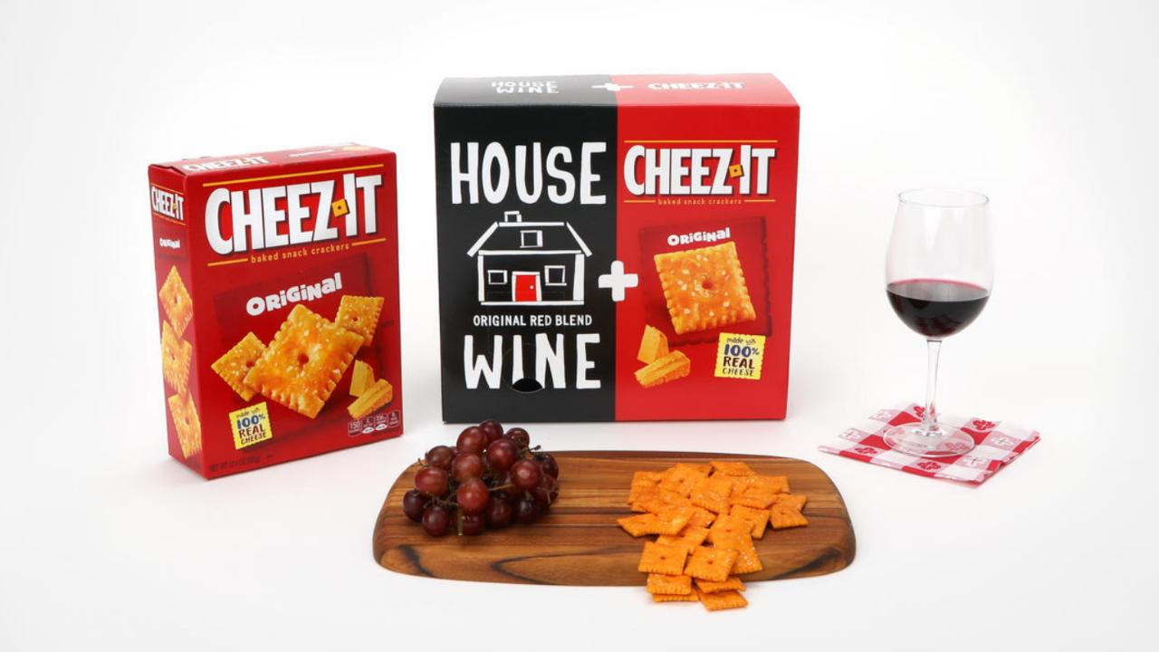 This Cheez-It/Boxed Wine Combo Is the Best Thing We've Seen All Day