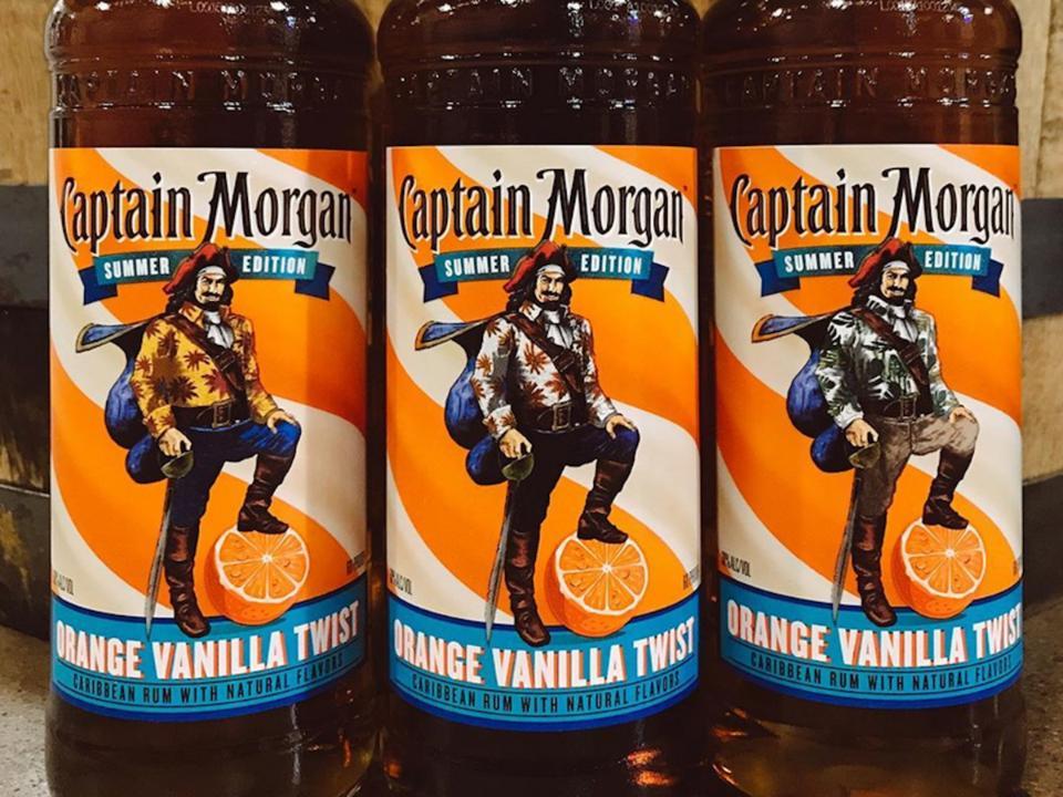 Captain Morgan Rum Carbs