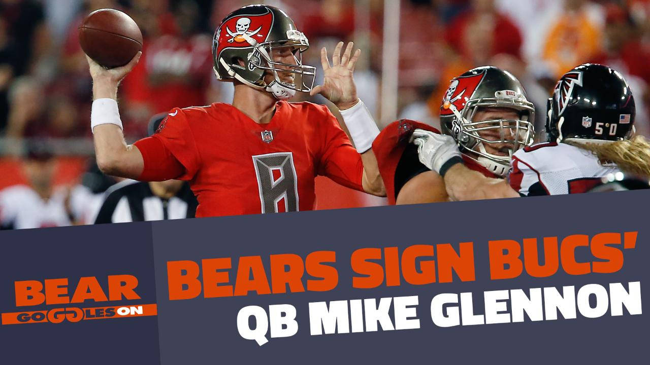 info for 606b5 dcbcf What to expect out of Chicago Bears quarterback Mike Glennon ...